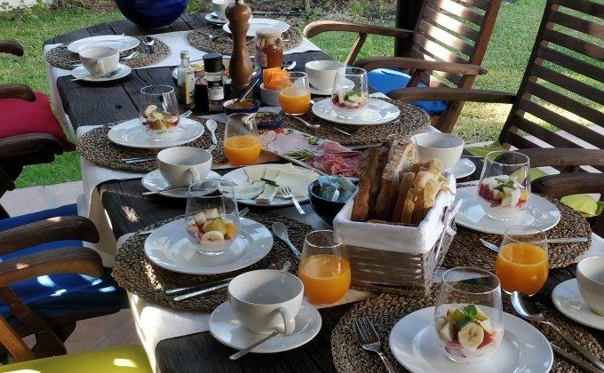 retreat healthy breakfast