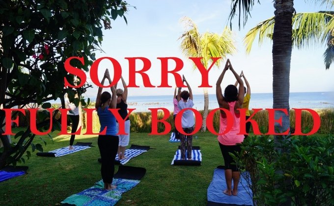 YOGA RETREAT FULLY BOOKED